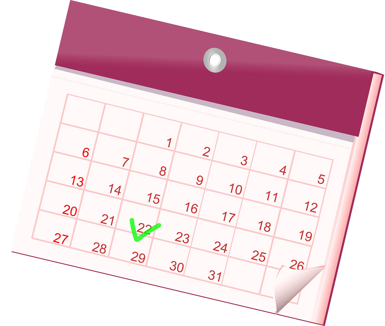 Common calendar, Packet papers, April 16