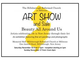 Art Show and Sale - Hillsborough Reformed Church