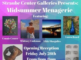 Straube Center Galleries Presents: Midsummer Menagerie