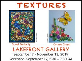 Textures - a Mixed Media Exhibit