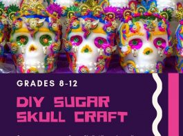Teen Sugar Skull Craft @ Main