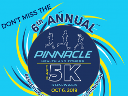 Pinnacle Health and Fitness to host 6th Annual 5K Run, Walk, Dash for Down Syndrome and Post-Race Party