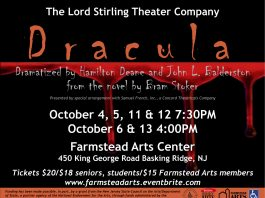 """Dracula"" at Farmstead Arts Center"