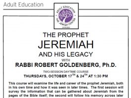 The Prophet Jeremiah And His Legacy