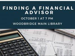 Finding Financial Advisor