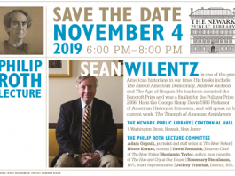 PHILIP ROTH LECTURE SERIES FEATURES AMERICAN HISTORIAN SEAN WILENTZ