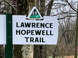 Lawence Hopewell Trail Saturday Walking Club