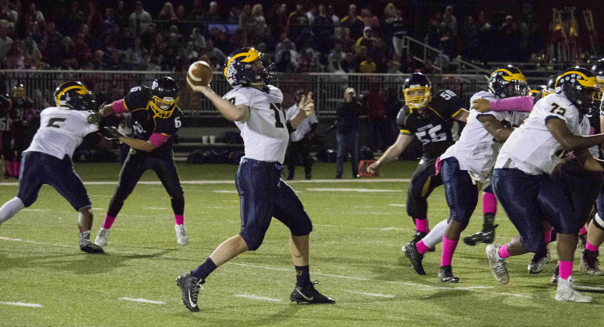 Florence defeats Bordentown in rivalry football matchup ...