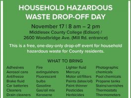 Middlesex County 2019 Household Hazardous Waste Drop-Off