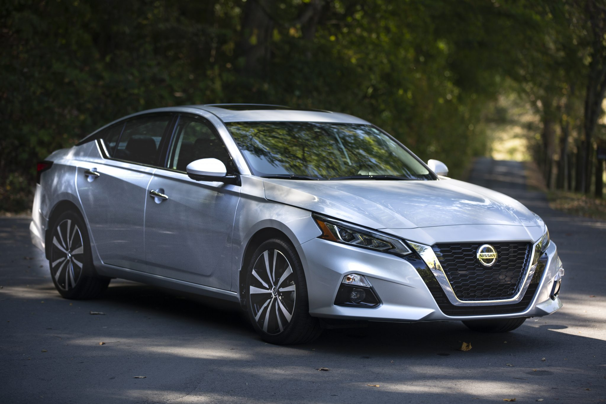on the road 1115 looking at the 2020 nissan altima