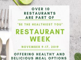 Be the Healthiest You - Glen Rock  and Ridgewood Restaurant Week