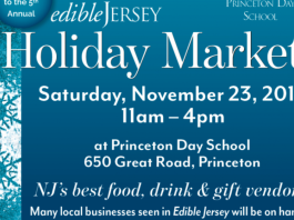 5th Annual  Edible Jersey HOLIDAY MARKET