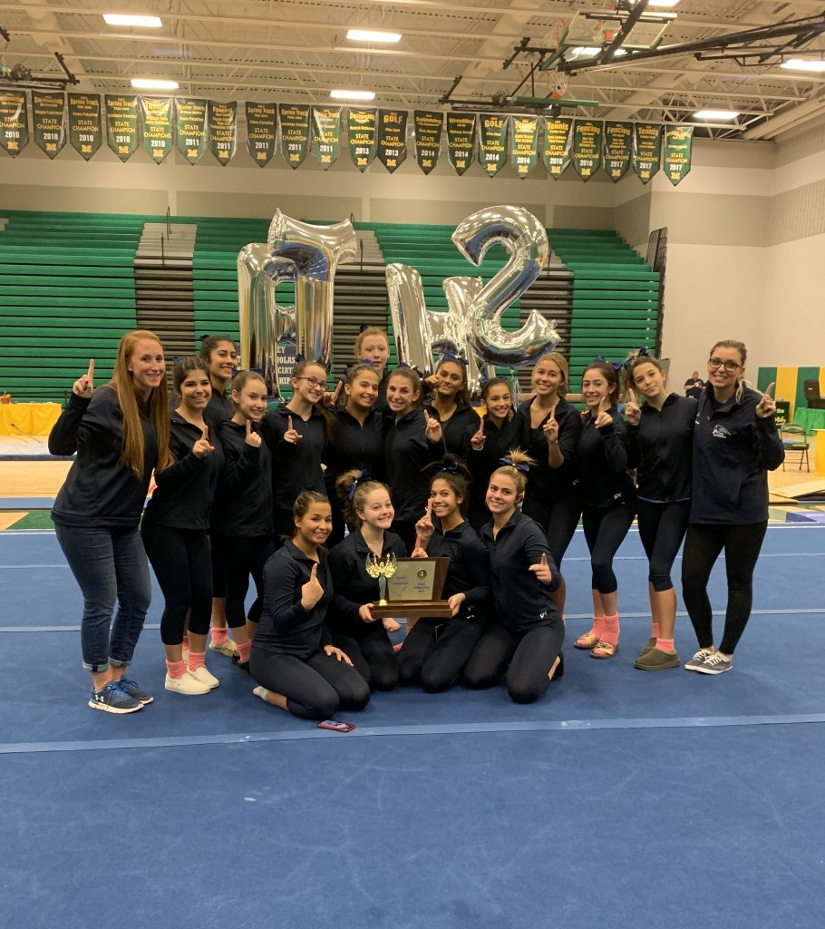 Freehold Township completes historic gymnastics season with third state title - centraljersey.com