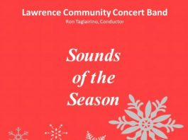Lawrence Community Concert Band holiday concert