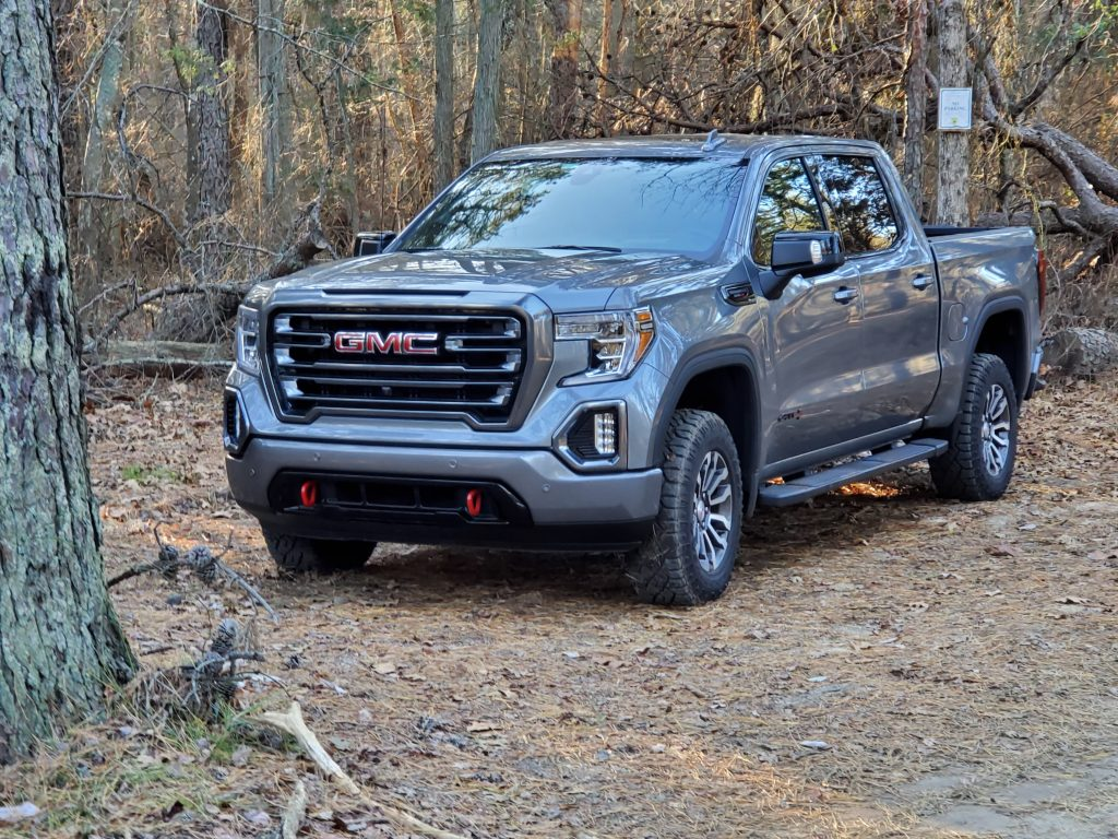 On The Road 11 22 Looking At The 2020 Sierra 1500 4wd Crew Cab At4 Centraljersey Com