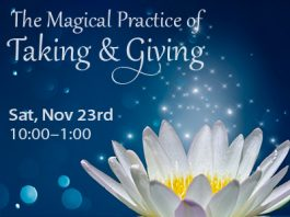 The Magical Practice of Taking and Giving