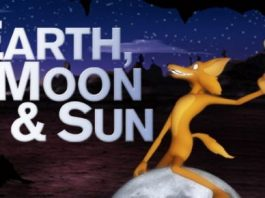 Earth, Moon, Sun & Coyote