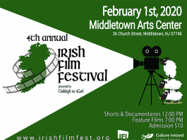 4th Annual Irish Film Festival presented by Claddagh na nGael