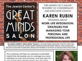 Great Minds Salon:  Work-Life Integration