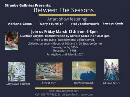 Straube Galleries Presents: Between The Seasons Art Show