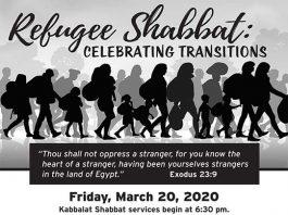Refugee Shabbat: Celebrating Transitions
