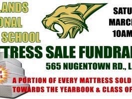 Pinelands Regional High School Mattress Sale Fundraiser