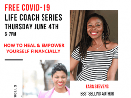 COVID-19 EDITION: FREE Life Coach Webinar How to Heal & Empower Yourself Financially