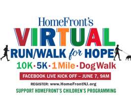HomeFront VIRTUAL Run / Walk / Dog Walk for Hope - 10K, 5K, 1 mile, dog walk