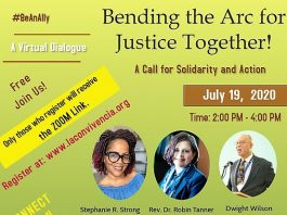 Bending the Arc for Justice Together: A Call for Solidarity and Action- ONLINE