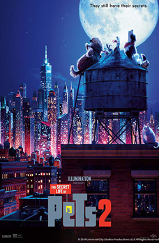 Drive In Moonlight Movies Featuring Secret Life of Pets 2