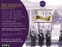 Votes for Women at Berry Lane Park