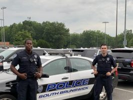 PHOTO COURTESY OF SOUTH BRUNSWICK POLICE DEPARTMENT