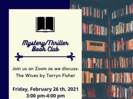 Henry Inman-Mystery/Thriller Book Club