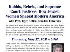 "Beth El Synagogue Presents ""How Jewish Women Shaped Modern America"""