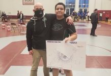 PHOTO COURTESY OF RARITAN HIGH SCHOOL WRESTLING PROGRAM