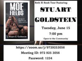 """Beth El Synagogue """"Book Talk"""""""