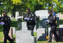 PHOTO COURTESY OF BORDENTOWN TOWNSHIP POLICE CHIEF BRIAN PESCE
