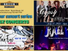 Indoor Music Concerts at Brook Arts Center!