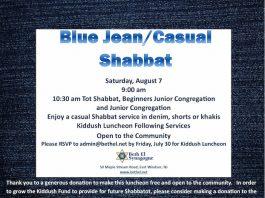 Beth El Synagogue Shabbat in the Park