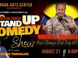 Comedian Mike Marino  NJ's Bad Boy