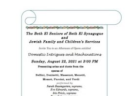 Beth El Synagogue and JFCS Present 'An Afternoon of Opera'