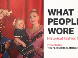 What People Wore Historical Fashion Show