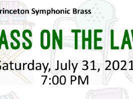 """Princeton Symphonic Brass presents """"Brass on the Lawn"""" - Sat. July 31st, 7:00 PM"""